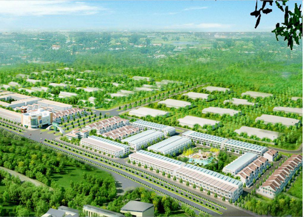 Phối cảnh dự án Western City Bến Lức